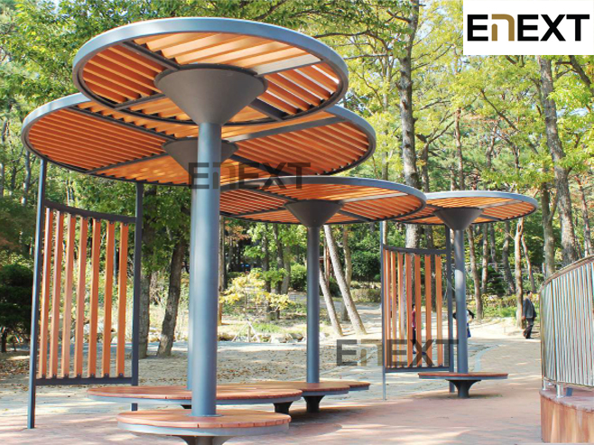 E-next (Benches, Public Tables and Chairs, Recycled Plastic Furniture)