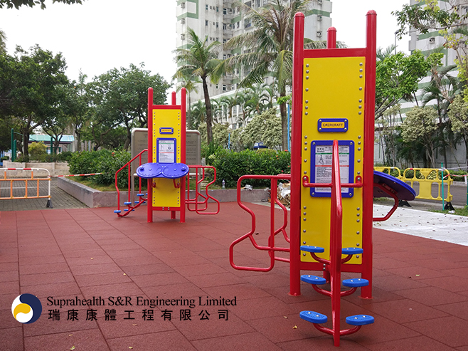 PLAYCRAFT SYSTEMS (Elderly Fitness Equipment)
