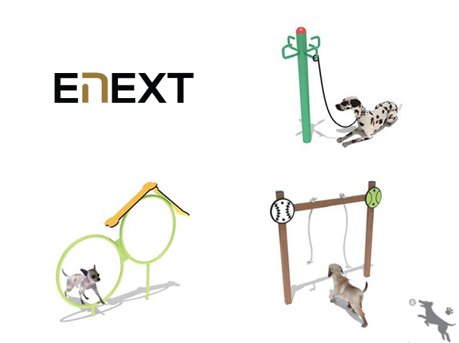 ENEXT - Dog Park Equipments